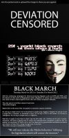 Black March by lluviosa