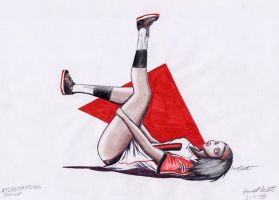 NFL Pin Up- Falcons by ImfamousE