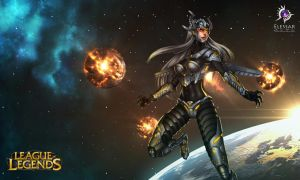 Space Syndra by Elessar-Amrod