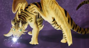 Dragon of the Golden Tiger by Kanon-MarkII