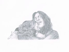 Snape and Lily by LuckyChance07