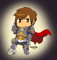 Artix the Paladin by Omgsam
