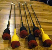 Larp Safe Arrows with Modular Heads by Armenoc