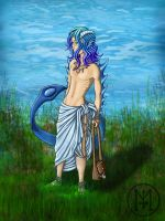 Drakyaren Pearl Diver (CLOSED) by keithred
