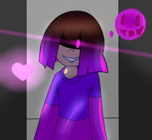 The soul of FEAR...... (Glitchtale) REDRAW by xXNovaDrawsXx