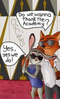 Judy and Nick on the Red Carpet! by sakuretsu67