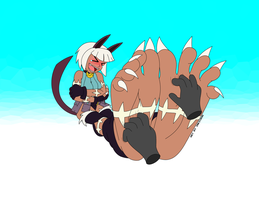 Playtime with Ms. Fortune by InkiCrow