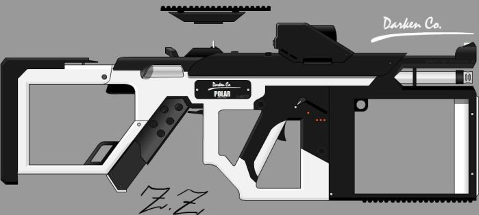 Darken Co. Polar SMG by Zen-Zinxe