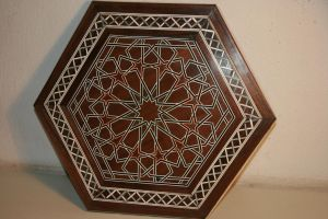 Geometric Plaque by maclegno