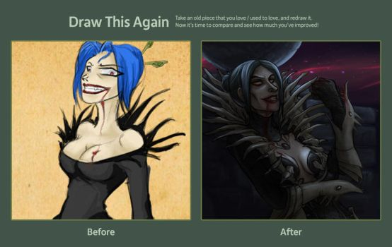 Draw this again: Demented by Cerviero