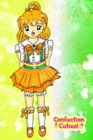 Gift-Confectionist Tangerine by Animecolourful