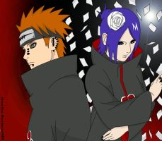 Akatsuki - Konan and Pein by Xpand-Your-Mind