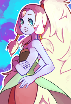 Giant woman by Steamed-Bun