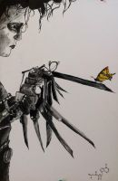 Edward scissor hands by gimpyright
