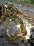 Brass goggles magnifying by fairyfrog