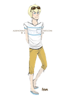 Evan summer outfit contest by AxMongrel