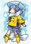 Rainy Day Adopt - CLOSED by kuroeko-adopts