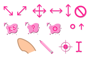 Think Pink Cursors by tsand106
