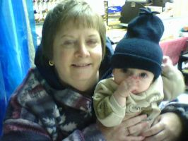 Grammy and Jeffrey - Dec. 2009 by LindaLee
