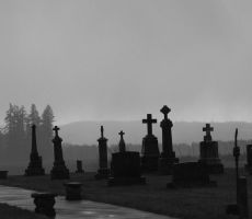 Cemetery by KelbelleStock
