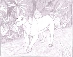 Nala in the jungle by Dav027