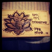 Draw with fire. The art of pyrography. by onlyagame89
