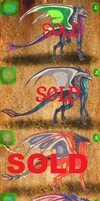 10 Dragon Adoptables ALL SOLD by Neffertity