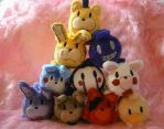 Five Nights at Freddy's Tsum Tsums by HipsterOwlet