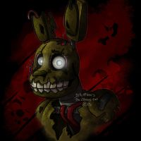 Five Nights at Freddy's 3 by THE-Z0MBIE-CAT