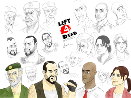 L4D Sketches by Tbopi