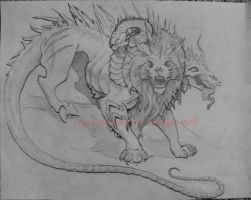 Character Design 3: Chimera by Terra-fen