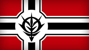 Zeon Flag by DrStuff