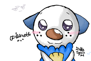 Oshawott by ZeldaSonicCat