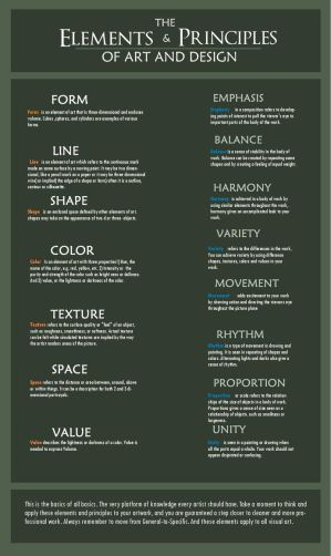 9 Principles Of Art : Elements and principles of art