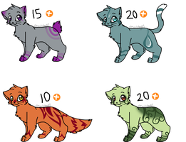 Kitty adoptables (Closed) by DevilsRealm