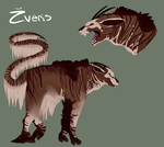 VoS: Creature Contest- Zveris by AlbinoRose