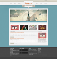 Tigerpress - Vintage Wordpress by The-Returnx