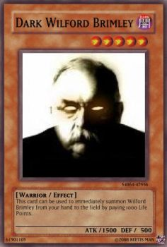 Dark Wilford Brimley Yugioh by BeetisMan