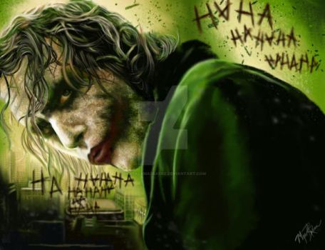 Why so serious? by DigitalxMassacre