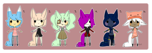 [tailmouth chibbums set 2] by sockjuice