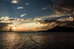 Omis sunset by Notmeister