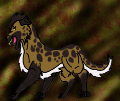 doggy colored by WerewolfDragonGirl