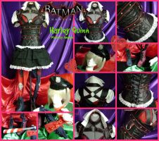 Harley Quinn from Batman Arkham Knight Preview by AmmieChan