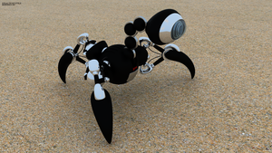 Stealth Scuttle by REDWOOD3D
