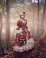 Red autumn by CindysArt