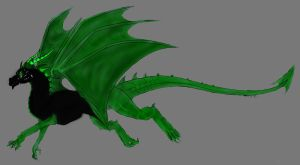 Nikolai -Dragon Mode and edited- by Cybernetic-Fangs