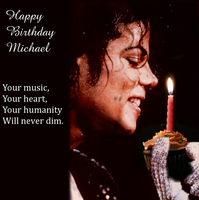 Happy Birthday Michael by LaMoonstar