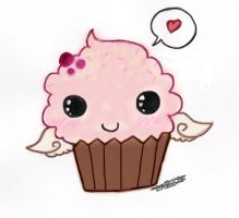 Chibi Cupcake ... by Devil1114