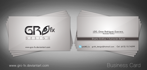 :Business Card_Gro-fx: by GRO-fx