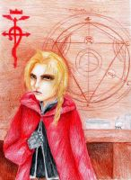 Edward Elric by RedAugen